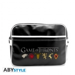 Game Of Thrones Sac Besace Sigles Vinyle Abystyle