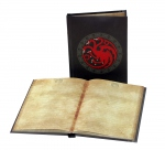 Game Of Thrones cahier lumineux Targaryen