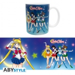 Sailor Moon Mug 320 ml Sailor Guerrières Céramique Abystyle