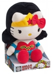 Hello Kitty DC Comics peluche Wonder Woman Jemini
