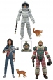Aliens série 4 : 3 figurines Ripley Dallas Neca