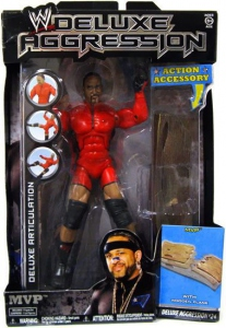 WWE Deluxe aggression figurine MVP