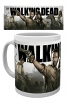 The Walking Dead mug saison 4 Rick, Daryl, Michonne