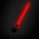 Star Wars - Lampe décorative 3D Sabre laser Darth Vader