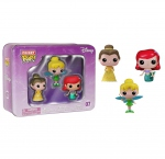 Disney pack 3 figurines Pocket POP! 07 Tin Tinkerbell, Belle, Ariel Funko