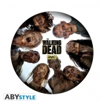 The Walking Dead Tapis de souris La ronde des zombies Abystyle