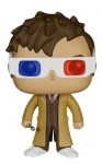 Doctor Who Figurine POP! Television 10th Doctor 3-D Specs Limited Edition Funko