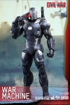 "Captain America Civil War figurine Movie Masterpiece Diecast War Machine Mark III 12"" Hot Toys"
