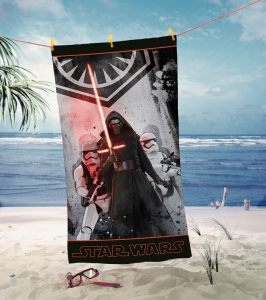 Star Wars Episode VII serviette de bain The Dark Side