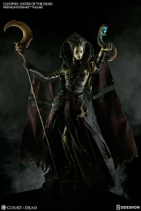 Court of the Dead statue Premium Format Cleopsis Eater of the Dead 62 cm Sideshow