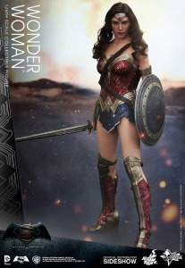 "Batman v Superman Dawn of Justice figurine Movie Masterpiece Wonder Woman 12"" Hot Toys EPUISE"