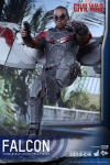 "Captain America Civil War figurine Movie Masterpiece Falcon 12"" Hot Toys EPUISE"