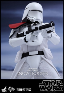 "Star Wars Ep VII  MM First Order Snowtrooper Officer 12"" Hot Toys"