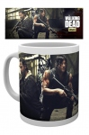 The walking dead Daryl & Rick mug