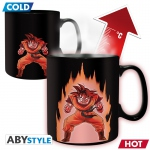 Dragon Ball Z Mug Heat Change 460 ml Son Goku - Avec Boîte Abystyle DBZ