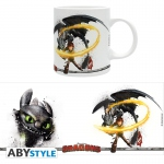 Dragons mug 320ml Harold & Krokmou Abystyle