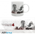 Uncharted 4 Mug 320 ml White Map Abystyle