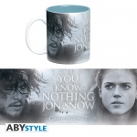 Game Of Thrones Mug 460 ml You Know Nothing Jon Snow Abystyle