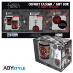 Game Of Thrones Pack Mug + Porte-clés + Badges Targaryen Abystyle