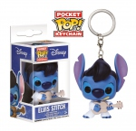 Lilo & Stitch porte-clés Pocket POP! Vinyl Elvis Stitch Funko