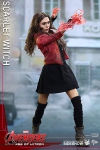 "Avengers 2 L'Ère d'Ultron figurine Movie Masterpiece Scarlet Witch 12"" Hot Toys"