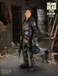 The Walking Dead statue Glenn in Riot Gear Gentle Giant