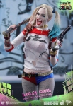 "Suicide Squad figurine Movie Masterpiece Harley Quinn 12"" Hot Toys EPUISE"