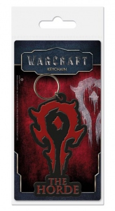 WOW Warcraft porte-clés caoutchouc The Horde