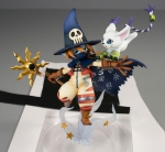 Digimon Adventure G.E.M. Series statue Wizardmon & Tailmon Megahouse