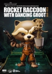 Les Gardiens de la Galaxie Egg Attack figurine Rocket Raccoon with Dancing Groot