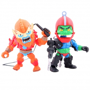 Masters of the Universe pack 2 figurines Beastman & Trapjaw SDCC 2016