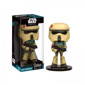 Star Wars Rogue One Wacky Wobbler Bobble Head Scarif Stormtrooper Funko