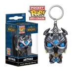 World of Warcraf porte-clés Pocket POP! Vinyl Arthas Funko WOW
