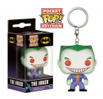 DC Comics porte-clés Pocket POP! Vinyl The Joker Glow in the Dark Funko Batman