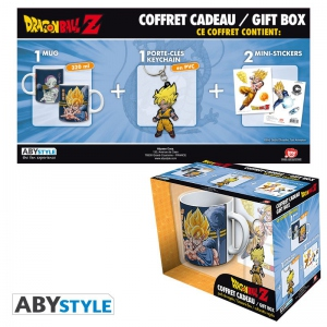Dragon Ball Pack Mug + Porte-clés + Sticker Dragon Ball Z Abystyle