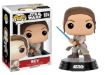 Star Wars Episode VII POP! 104 Bobble Head Rey Battle Pose Funko