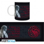Game Of Thrones Mug 320 ml Fire & Blood Abystyle