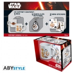 Star Wars Pack BB-8 Mug320ml +  porte-clés + Sticker Abystyle