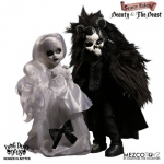 Living Dead Dolls Scary Tales pack poupées Beauty and the Beast Mezco