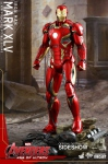 "Avengers 2 L'Ère d'Ultron figurine MMS Diecast Iron Man Mark 45 XLV 12"" Hot Toys"