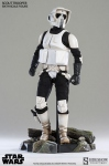 "Star Wars figurine Scout Trooper 12"" Sideshow"