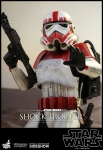 "Star Wars Battlefront figurine Videogame Masterpiece Shock Trooper 12"" Hot Toys"
