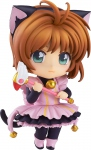 Cardcaptor Sakura figurine Nendoroid Co-de Sakura Kinomoto Black Cat Maid Good Smile
