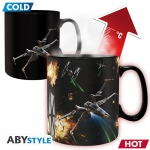 Star Wars Mug Heat Change 460 ml X-Wing Tie Fighter Abystyle