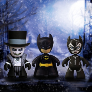 Batman Returns Le Défi pack 3 figurines Mez-Itz Mezco