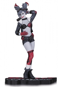 DC Comics Red, White & Black statuette Harley Quinn DC Collectibles