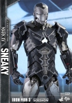 "Iron Man 3 figurine Movie Masterpiece Iron Man Mark XV Sneaky 12"" Hot Toys"