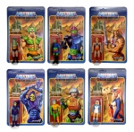 Masters of the Universe ReAction Wave 2 assortiment figurines Super7