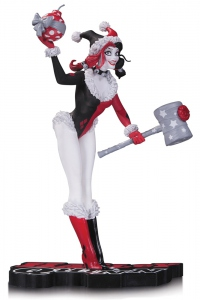 DC Comics Red, White & Black statue Holiday Harley Quinn DC Collectibles Batman