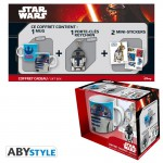 Star Wars Pack Mug 320ml  + porte-clés + Sticker R2-D2 Abystyle